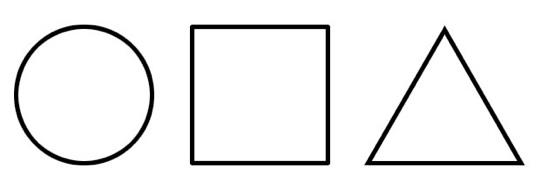 Q r - Coloriage des formes geometriques ...